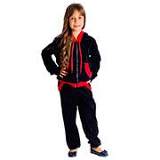 Спортивный костюм Велюр Kids Couture темно-синий