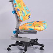 Кресло Y-818 GR1 обивка желтая со зверятами Mealux