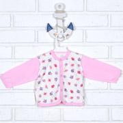 Кофточка для девочки Татошка 04502 розовая Птички