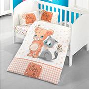 Детское постельное белье Victoria Bebek Mouse and cat 28433