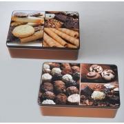 Коробка для печенья Kesper G38207 коричневая