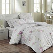 Комплект постельного белья Arya Jasmine ранфорс розовый