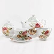 Чайный набор MR. 10011-17S Maestro Розы 17 предметов