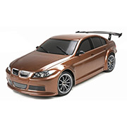 Шоссейная 1:10 E4JR BMW 320 Team Magic коричневый TM503014-320-BN - Фото №2