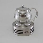 Стекляный заварочнеый чайник с фильтром 750ML(нерж.сталь) 8578
