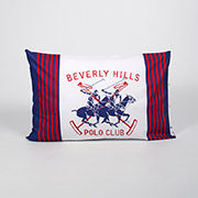 Набір наволочок Beverly Hills Polo Club BHPC ранфорс 009 Red