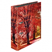 Папка-регистратор Herlitz А4 8см Autumn Delight Trees 50020027