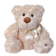 Мягкая игрушка Медведь Белый с бантом Grand 2503GMC