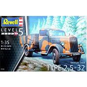 Конструктор Грузовик Type 2.5-32 Opel BL172 1:35 Revell 03250