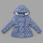 Куртка демисезонная для девочки Bembi КТ97 плащевка