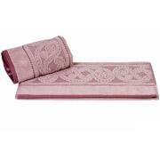 Полотенце махровое Hobby Hurrem темно-розовое