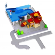 Игровой набор Driven Pocket Series Dine & Drive Pit Stop WH1075Z