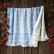 Плед Barine Kilim throw blue