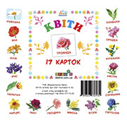 Карточки мини Цветы Зірка 06336930