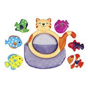 Игрушка для купания Кошка Ми-ми и рыбки Ks Kids 10421