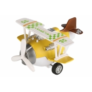 Самолет металический инерционный Same Toy Aircraft желтый SY8016AUt-1