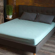 Простынь на резинке SoundSleep Stonewash Adriatic pastel mint пастельно-мятная