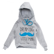 Кофта Little man Kids Couture 16-13 серая