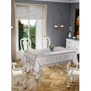 Скатерть Tropik home Priencly Grey 5698-6 - Фото №2