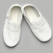 Чешки кожаные Модный Карапуз белые 06-00007