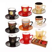 Кофейный сервиз 12 предметов Мокко микс ST 1533-01