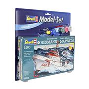 Конструктор Model Set Катер DGzRS Hermann Marwede 1:200 Revell  65812