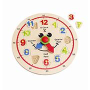 Детские Часы с цифрами Hape AKT-E1600