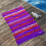 Пляжное полотенце Marie Claire Paulista фиолетовое