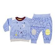 Домашний костюм синие медвежата Caramell Modern Boy