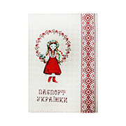 Обложка из эко-кожи Valex Паспорт украинки P-05