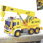 Подъемный кран Junior Trucker 28 см со светом и звуком Dave Toy 33025
