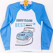 Пижама для мальчиков Best Race голубой ТМ Niso Baby 602Ab