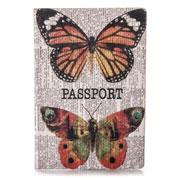 Обложка для паспорта ZIZ Бабочки ZIZ-10053