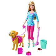 Набор Barbie с собачкой из серии Уход за питомцами