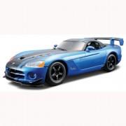 Авто-конструктор - Dodge Viper SRT10 ACR, голубой металлик