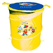Бочка для игрушек Devik play joy T0303А желтая