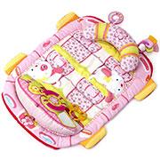 Матрас для выкладывания малышей на животик розовый Kids II