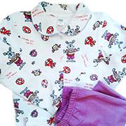 Пижама для девочки Фиолетовые Зайцы ТМ Niso Baby 603ADv
