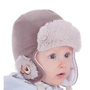 Зимняя шапка-ушанка Pupill Bolek