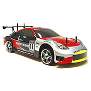 Дрифт 1:10 DRIFT TC HI4123 Brushed Nissan 350z Himoto HI4123n