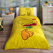 Подростковое постельное белье TAC Disney Tweety hearts