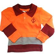Кофта с длинным рукавом ТМ Niso Baby 1225o оранжевый