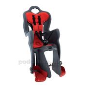 Сиденье заднее  Bellelli B1 clamp grey детское с амортизационной блокировко