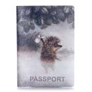 Обложка для паспорта ZIZ Ежик в тумане ZIZ-10024