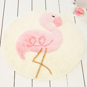 Коврик в ванную Chilai Home Pink flamingo yuvarlak