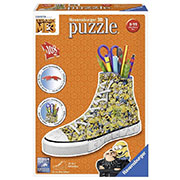 Пазл 3D Ravensburger Girly Girl Подставка-кед для крандашей Гадкий я 3 108 элементов DW-RSV-112623