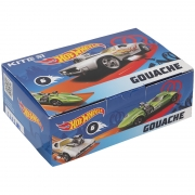 Гуашь 6 цветов 20 мл Kite Hot Wheels HW21-062