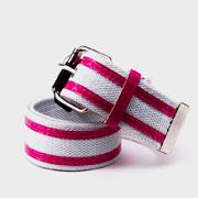 Ремень Gloria Jeans 0019 розово-белый