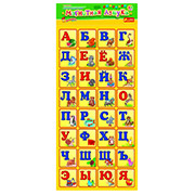 Карточки на магнитах Ranok Creative Магнитная азбука русская 15133007Р,4203
