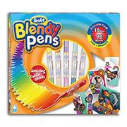 Набор 10 фломастеров и аксессуары, набор 3D открыток серии Blendy pens Renart